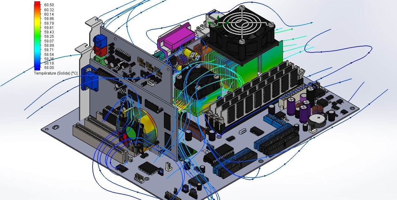 Simulation carte electronique